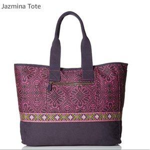 Prana Jazmina Tote NWT in Rich Fuchia